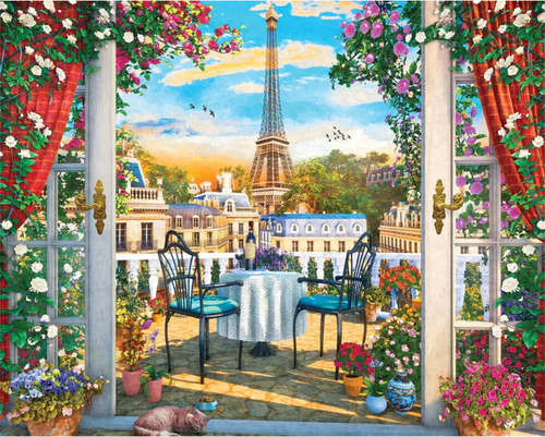 Luxurious Lookout 1000pc