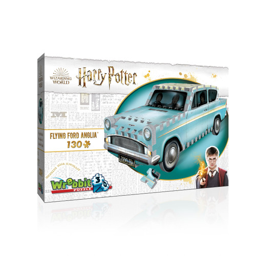 Flying Ford Anglia 130pc 3D Puzzle