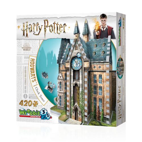 Hogwarts Clock Tower 3D Puzzle