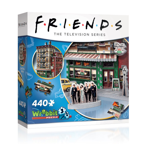 Friends Central Perk Cafe 3D puzzle