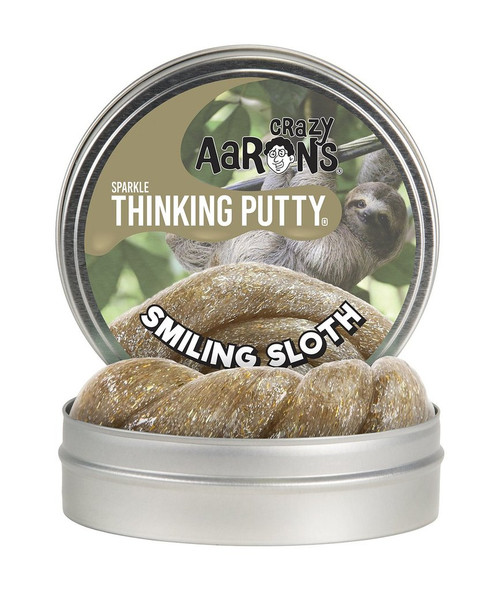 """Smiling Sloth 4"""" putty"""