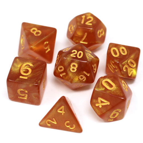 Summer Solstice Dice Set