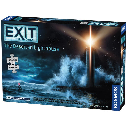Exit: The Deserted Lighthouse + Jigsaw Puzzles (Sold Out)