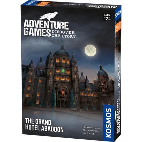 The Grand Hotel Abaddon Adventure Game (Pre-Order)