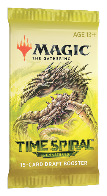 Draft Booster, Time Spiral Remastered—Magic the Gathering (In-Store Pickup Only) (Allocated) (Sold Out)