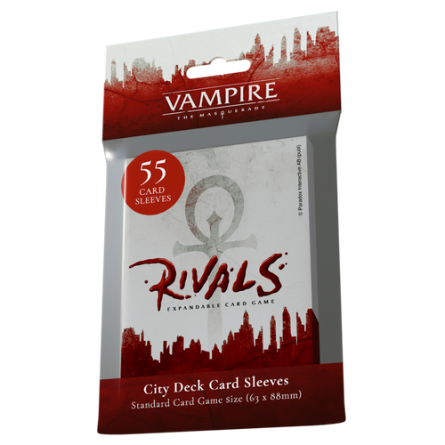 City Deck Sleeves - Vampire the Masquerade: Rivals (Pre-Order)