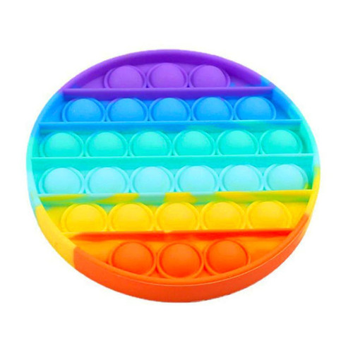 Rainbow Round Pop Fidgety