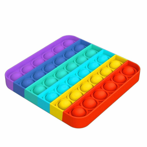 Rainbow Square Pop Fidgety