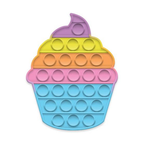 Cupcake Glow-in-the-Dark Pop Fidgety