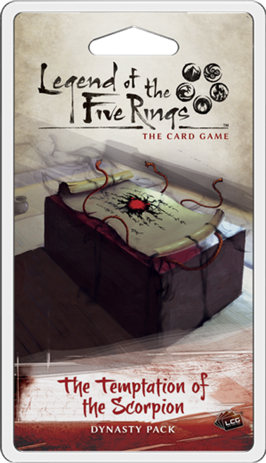 The Temptation of the Scorpion, Dynasty Pack - Legend of the Five Rings (Sold Out)