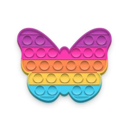Rainbow Butterfly Glow-in-the-Dark Pop Fidgety