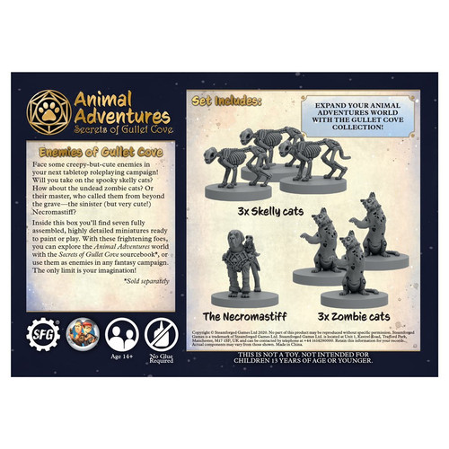 Animal Adventures: Secrets of Gullet Cove: Enemies (Sold Out)