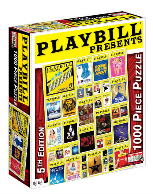 Playbill Broadway Cover 1000pc