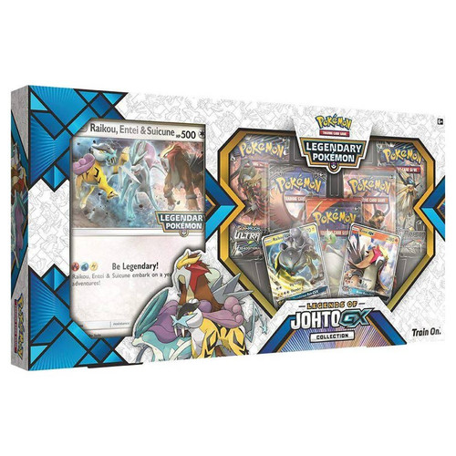 Legends of Johto GX Collection—Pokemon TCG (On Order)