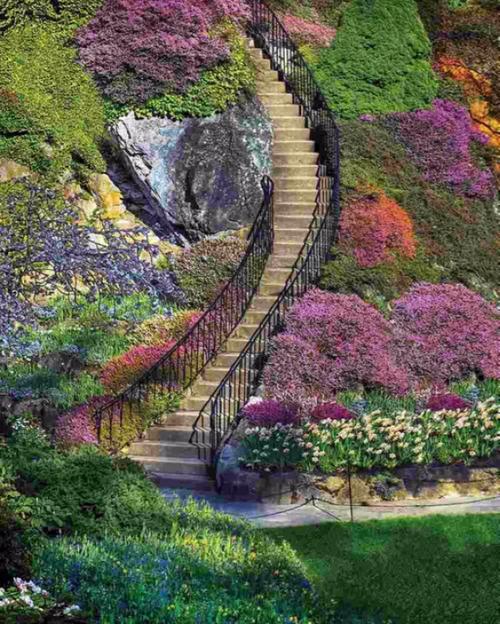 Garden Stairway 500pc