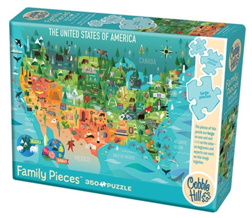 Family Pieces: The United States of America 350pc