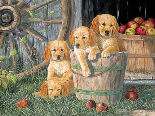 Family Pieces: Puppy Pail 350pc