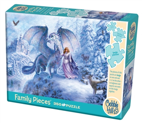 Family Pieces: Ice Dragon 350pc