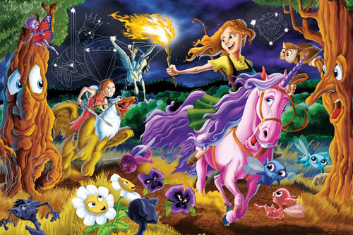 Family Pieces: Mystical World 350pc