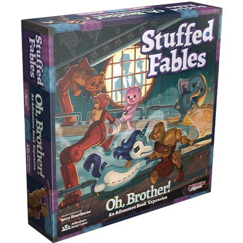 Stuffed Fables: Oh, Brother! box