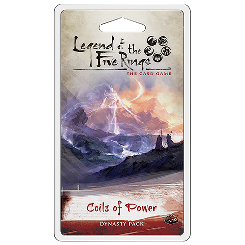 Legend of the Five Rings LCG: Coils of Power front of deck