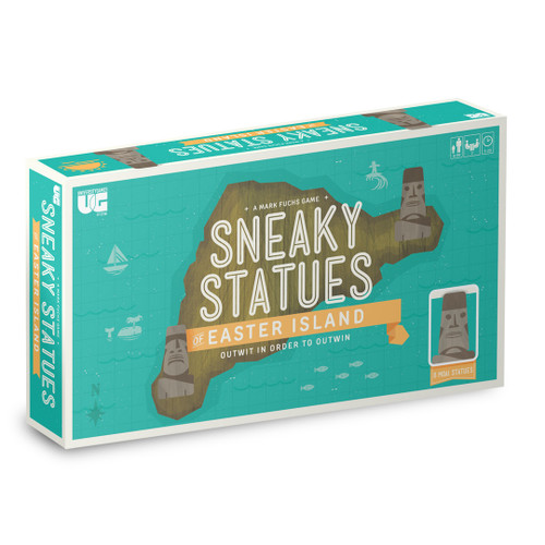 Sneaky Statues of Easter Island (Sold Out)