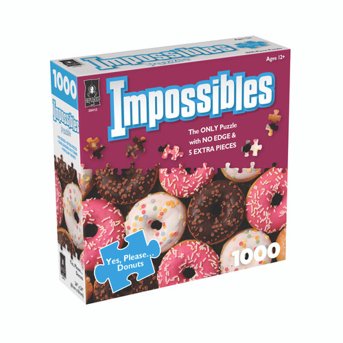 Yes, Please...Donuts, Impossible Puzzle 1000pc