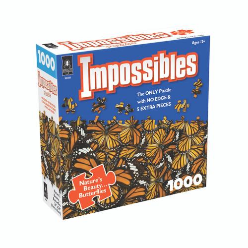 Nature's Beauty...Butterflies,  Impossible Puzzle 1000pc