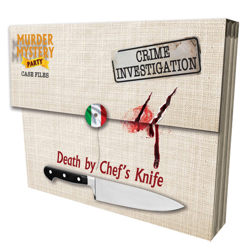 Death by Chef's Knife—Murder Mystery Party Case Files (On Order)