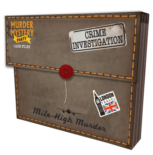 Mile High Murder—Murder Mystery Party Case Files