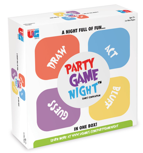 Party Game Night Games Compendium (On Order)
