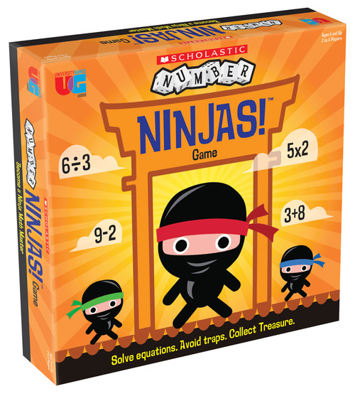 Scholastic Number Ninjas (Sold Out)