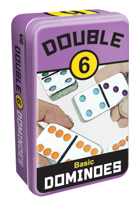 Double 6 Dominoes—Storage Tin (Sold Out)