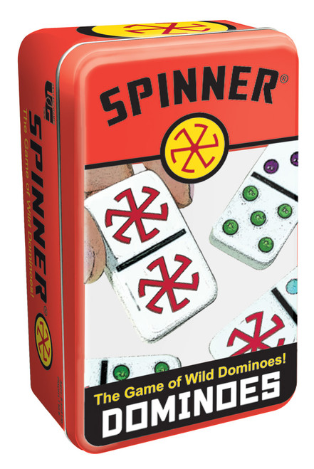 Spinner Dominoes—Storage Tin