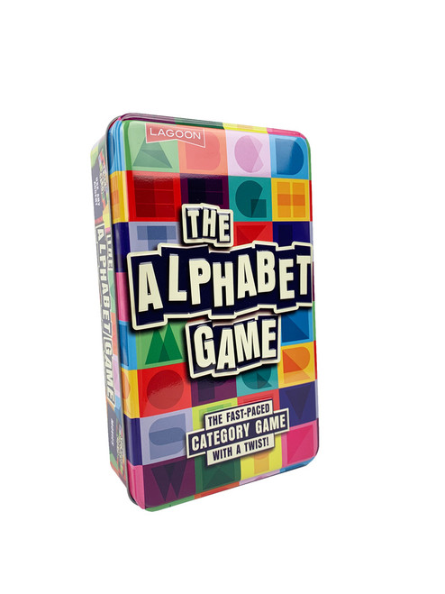 The Alphabet Game—Storage Tin