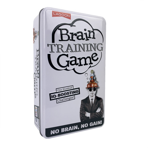 Brain Training Game—Storage Tin