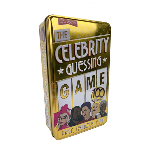 Celebrity Guessing Game—Storage Tin