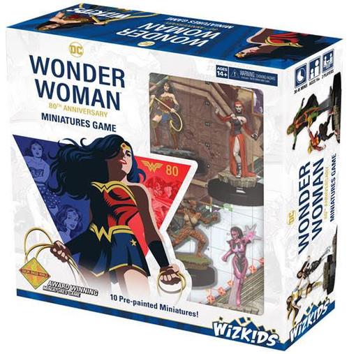 DC HeroClix: Wonder Woman 80th Anniversary Miniatures Game box