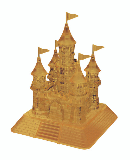 Castle Gold Crystal 3D Puzzle (On Order)