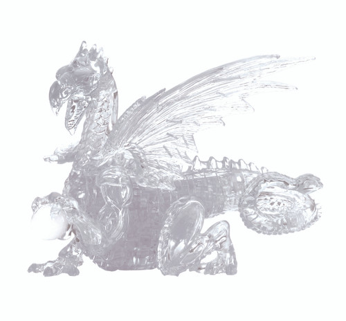 Dragon Clear Crystal 3D Puzzle (On Order)