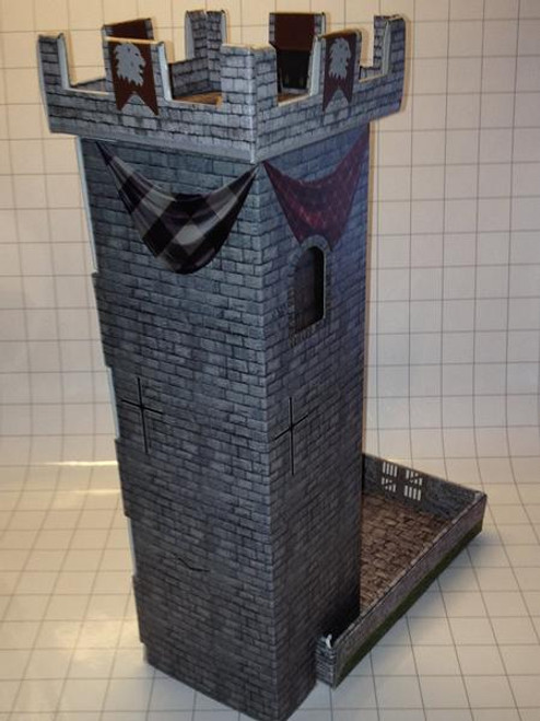 Castle Keep Dice Tower front