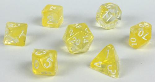 Honey Lemon Diffusion polyhedral dice
