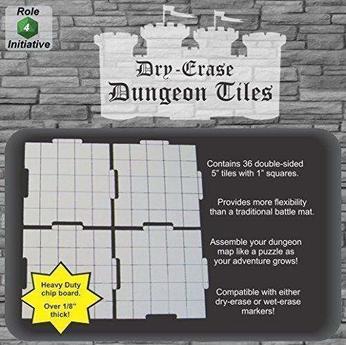"""Dungeon Tiles 5"""" Square"""