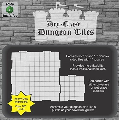 Dungeon Tiles Squares Combo Pack