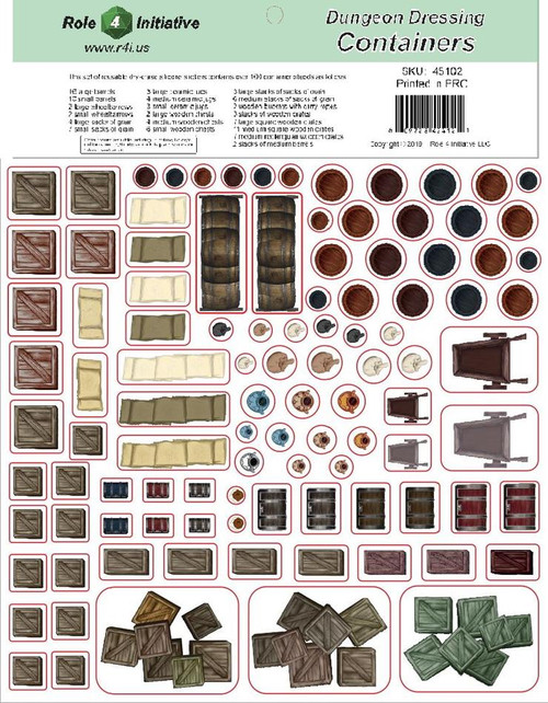Dungeon Dressing Containers