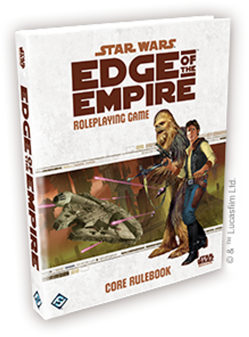 Star Wars: Edge of the Empire Core Rulebook (Sold Out)