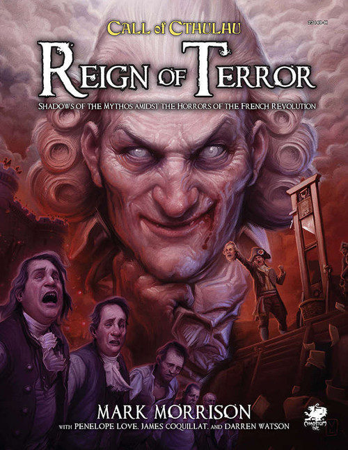 Call of Cthulhu 7E: Reign of Terror, Adventure Module (Sold Out)