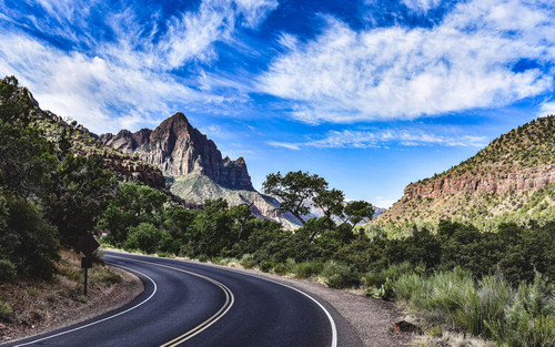 Zion National Park - Road