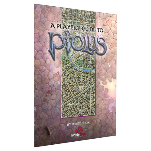 A Player's Guide to Ptolus cover