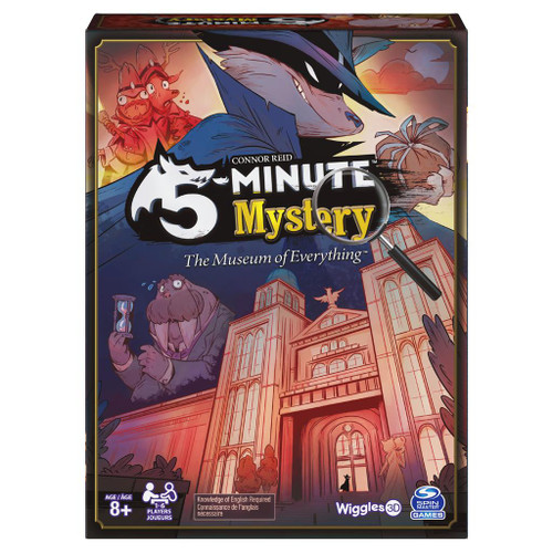 5 Minute Mystery: The Museum of Everything box
